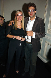 JAG BOLINA and CELIA SAMPSON at a party hosted by Ruinart Champagne at Claridges, Brook Street, London on 18th October 2006.<br /><br />NON EXCLUSIVE - WORLD RIGHTS