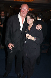Food writer FAY MASCHLER and her husband REG GADNEY at the Tatler Restaurant Awards in association with Champagne Louis Roederer held at the Four Seasons Hotel, Hamilton Place, London W1 on 10th January 2005.<br /><br /><br />NON EXCLUSIVE - WORLD RIGHTS