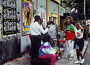 Don Letts at Notting Hill Carnival - police raid on sound system