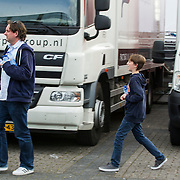NLD/Breda/20140426 - Radio 538 Koningsdag, ex partner Sandra van Nieuwland met zoon