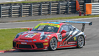 #18 Michael Igoe / Adam Wilcox WPI Motorsport Porsche 911 GT3 Cup Pro/Am GTC  during British GT Championship as part of the British F3 / GT Championship at Oulton Park, Little Budworth, Cheshire, United Kingdom. April 20 2019. World Copyright Peter Taylor/PSP. Copy of publication required for printed pictures.