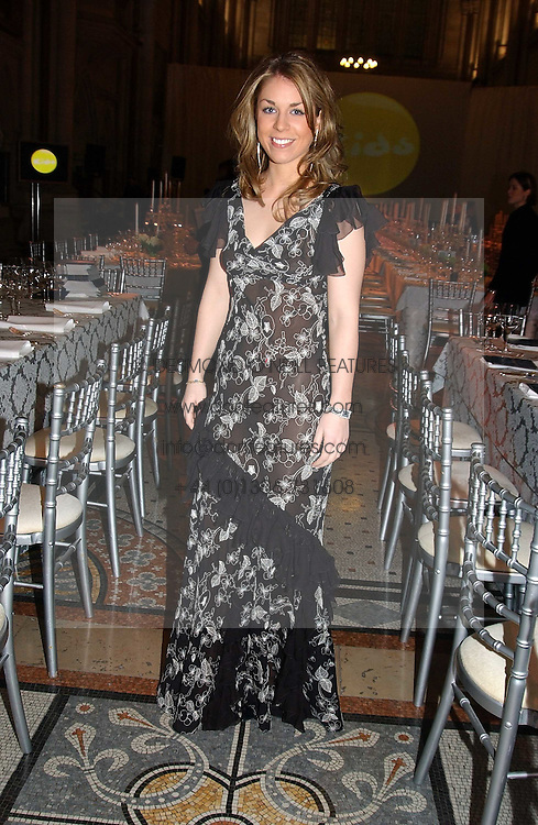 MISS MARIETTA CHANDRIS at The Magic of Winter ball in aid of the charity KIDS held at The Royal Courts of Justice, London on 2nd Ferbruary 2005.<br />