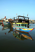 Thu Bon River Boats - Much of the Hoi An's commerce still revolves along the riverbank as well as most of its UNESCO World Heritage buildings.