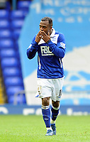 Fotball<br /> England<br /> Foto: Fotosports/Digitalsport<br /> NORWAY ONLY<br /> <br /> Birmingham City v Burnley Premiership 01.05.10<br /> <br /> Chucho Birmingham City celebrates his 1st goal at St Andrews and City's 2nd in the game
