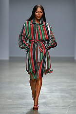 Naomi Campbell Models For Kenneth Ize - 27 Feb 2020