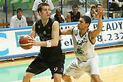 DESCRIZIONE : Siena Lega A1 2005-06 Montepaschi Siena VidiVici Virtus Bologna <br /> GIOCATORE : Drejer <br /> SQUADRA : VidiVici Virtus Bologna <br /> EVENTO : Campionato Lega A1 2005-2006 <br /> GARA : Montepaschi Siena VidiVici Virtus Bologna <br /> DATA : 25/03/2006 <br /> CATEGORIA : Passaggio <br /> SPORT : Pallacanestro <br /> AUTORE : Agenzia Ciamillo-Castoria/G.Ciamillo