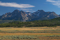 Sawtooth Mountains Idaho