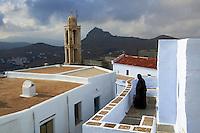 Grece, Cyclades, ile de Tinos, monastere de Kechrovouniou // Greece, Cyclades islands, Tinos, Kechrovouniou Monastery