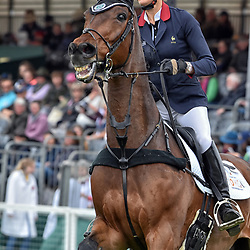 "Clara Loiseau Badminton Horse trials Gloucester England UK, Clara Loiseau equestrian event representing France riding ""Wont Wait"" in the Badminton Horse trials May 2019 Badminton Horse trials 2019 Winner Piggy French wins the title"