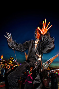 The Thames Festival is an autumn weekend celebration each September on the banks of the river Thames. 2,000 dancers, musicians and masqueraders take to the streets in an unrivalled display of street arts and creativity in this year's Night Carnival.