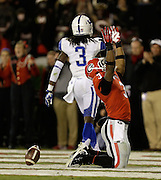 ATHENS, GA - NOVEMBER 23:  Tailback Todd Gurley #3 of the Georgia Bulldogs celebrates after scoring a second quarter touchdown during the game against the Kentucky Wildcats at Sanford Stadium on November 23, 2013 in Athens, Georgia.  (Photo by Mike Zarrilli/Getty Images)