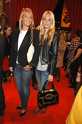 Left to right, OLIVIA BUCKINGHAM and POPPY DELEVINGNE at a party to celebrate the opening of the new Uniqlo store at 331 Oxford Street, London W1 on 6th November 2007.<br /><br />NON EXCLUSIVE - WORLD RIGHTS