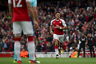 Alexis Sanchez of Arsenal looks on. Premier league match, Arsenal v AFC Bournemouth at the Emirates Stadium in London on Saturday 9th September 2017. pic by Kieran Clarke, Andrew Orchard sports photography.