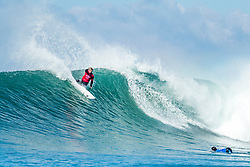 Jul 15, 2017 - Jeffreys Bay, South Africa - Reigning World Champion John John Florence of Hawaii advancing directly to Round Three of the Corona Open J-Bay after winning Heat 6 of Round One at Supertubes, Jeffreys Bay, South Africa. (Credit Image: © Kelly Cestari/World Surf League via ZUMA Wire)