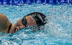 October 4, 2018 - Budapest, Hungary - Perez Jimena of Spain competes in the Womens 400m Freestyle on day one of the FINA Swimming World Cup held at Duna Arena Swimming Stadium on Okt 04, 2018 in Budapest, Hungary. (Credit Image: © Robert Szaniszlo/NurPhoto/ZUMA Press)