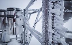 THEMENBILD - Eis auf der Messterasse am Sonnblick Observatorium, aufgenommen am 20. November 2018, Rauris, Österreich // ice at the Observatory Sonnblick on 2018/11/20, Rauris, Austria. EXPA Pictures © 2018, PhotoCredit: EXPA/ JFK