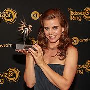 NLD/Amsterdam/20191009 - Uitreiking Gouden Televizier Ring Gala 2019, Elise Schaap met haar zilverentelevisie ster