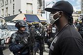 Black Lives Matter Paris demonstration