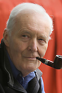 Veteran British Socialist politician Tony Benn pictured at the Edinburgh International Book Festival where he talked about his life in politics. The Book Festival was the World's largest literary event and featured writers from around the world. The 2006 event featured around 550 writers and ran from 13-28 August.