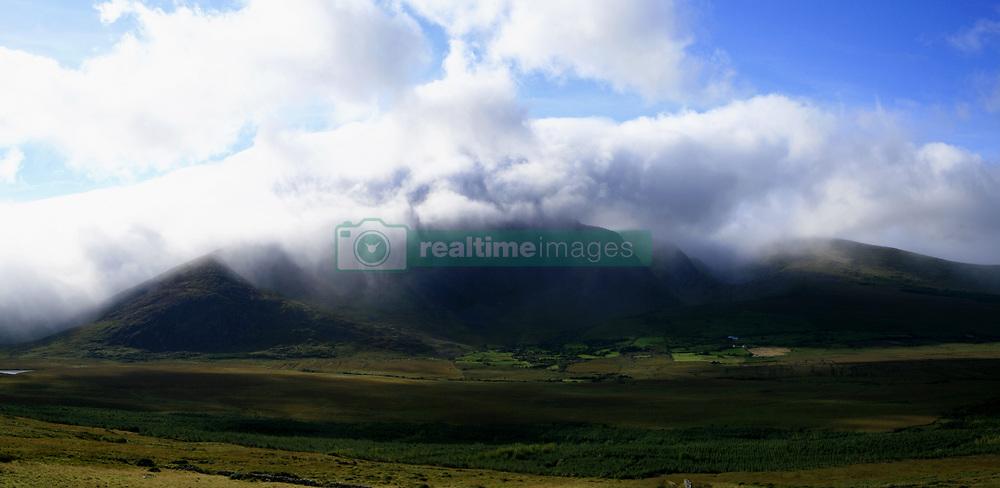July 21, 2019 - Mount Brandon In Mist Near Dingle, Kerry, Ireland (Credit Image: © Peter Zoeller/Design Pics via ZUMA Wire)