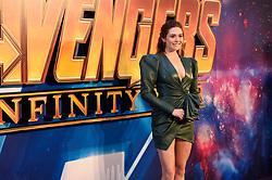 Elizabeth Olsen attending the Avengers: Infinity War UK Fan Event held at Television Studios in White City, London.