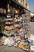 Tourist souvenirs, Rhodes town, Rhodes, Greece