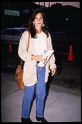 July 1989;  Hollywood, CA, USA;  Former 'Friend' actress COURTENEY COX in a photo on July 1989.  (Michelson-Paula/1989)  (Credit Image: © Michelson/ZUMAPRESS.com)