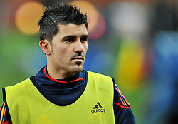 10.07.2010, Soccer City Stadium, Johannesburg, RSA, FIFA WM 2010, Training Spanien im Bild David Villa, EXPA Pictures © 2010, PhotoCredit: EXPA/ InsideFoto/ Perottino *** ATTENTION *** FOR AUSTRIA AND SLOVENIA USE ONLY! / SPORTIDA PHOTO AGENCY
