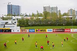 June 1, 2018 - Reykjavik, ICELAND - 180601 The players of Norway during a training session on June 01, 2018 in Reykjavik..Photo: Fredrik Varfjell / BILDBYRÃ…N / kod FV / 150104 (Credit Image: © Fredrik Varfjell/Bildbyran via ZUMA Press)