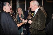 ROSSY DE PALMA; VANESSA BRANSON; CHARLES SAUMERAZ SMITH, Liberatum Cultural Honour for Francis Ford Coppola<br /> with Bulgari Hotel & Residences, London. 17 November 2014