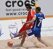 FIFA BEACH SOCCER WORLD CUP 2011 - QUALIFIER MUSCAT