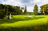 18-09-2015: Golf & Spa Resort Konopiste in Benesov, Tsjechië.<br /> Foto: Links op de foto hole 18 en rechts hole 10