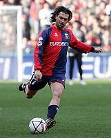 """Oscar Milanetto (Genoa)<br /> Italian """"Serie B"""" 2006-07<br /> 03 Mar 2007 (Match Day 26)<br /> Genoa-Lecce (1-0)<br /> """"Luigi Ferraris""""-Stadium-Genova-Italy<br /> Photographer: Luca Pagliaricci INSIDE"""