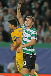 October 31, 2017 - Na - Lisbon, 31/10/2017 - Champions League: Sporting vs Juventus. Sporting Clube de Portugal (POR) received this evening at the Alvalade XXI stadium in Lisbon, Juventus FC (ITA) in the match for Group 4 of the 2017/2018 Champions League. Stefan Ristovski  (Credit Image: © Atlantico Press via ZUMA Wire)