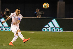 March 22, 2019 - Gary Medel (17) of Chile kicks the ball during Mexico's 3-1 victory over Chile. (Credit Image: © Rishi Deka/ZUMA Wire)