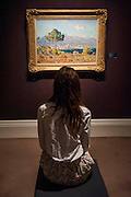 Sotheby's £250m Impressionist & Modern Art and Contemporary Art Summer Sales.  Highlights include: Monet's Water Lilies est £20-30m  ( and here his Antibes, est £6m, pictured); a Mondrian, est £13-18m; a Peter Doig, est £9m; a Frances Bacon triptych of his lover George Dyer, est £15-20m; and works by Matisse, Picasso, Basquiat, Warhol and Richter. Sotheby's, New Bond Street, London.