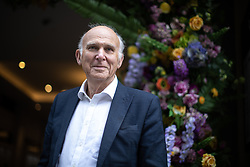 "© Licensed to London News Pictures. 20/06/2019. Manchester, UK. In one of his last actions as Liberal Democrat Party leader , SIR VINCE CABLE meets Big Issue sellers in Manchester City Centre , alongside Cllr John Leach and Jane Brophy MEP . The party say they are highlighting what they call a "" Homeless Tax "" , which they oppose , and which could see fines of up to £1,000 imposed upon the homeless by Manchester City Council . The final Local Government Information Unit (LGiU) report from the Local Government Homelessness Commission (LGHC) – a year-long initiative set up to investigate how councils can fulfil their obligation to prevent homelessness - is due to be published . The Liberal Democrats will appoint a new leader in July . Photo credit: Joel Goodman/LNP"