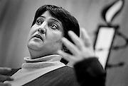 ANTWERP, BELGIUM - 2002 - SOCIAL / POLITICS,  Marzia FAQUIRI womenrights activist. ©Christophe VANDER EECKEN