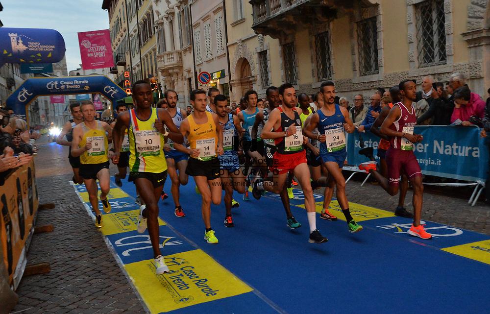 Trento Running Festival - October the 6th, 2018 -  Trento, Italy.<br /> Giro al Sas <br /> © DANIELEMOSNA.IT