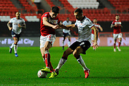 Callum O'Dowda (11) of Bristol City battles for possession with Gary O'Neil (19)  of Bolton Wanderers during the The FA Cup fourth round match between Bristol City and Bolton Wanderers at Ashton Gate, Bristol, England on 25 January 2019.