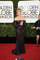 January 8, 2017 - Beverly Hills, CA, USA - Goldie Hawn attends the 74th Annual Golden Globe Awards at the Beverly Hilton in Beverly Hills, CA on Sunday, January 8, 2017. (Credit Image: © Hfpa Photographer/Avalon via ZUMA Press)