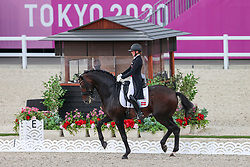 Merrald Nanna Skodborg, DEN, Zack, 121<br /> Olympic Games Tokyo 2021<br /> © Hippo Foto - Dirk Caremans<br /> 27/07/2021