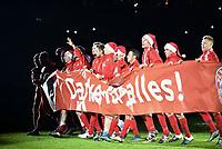 Fotball<br /> Tyskland<br /> 15.12.2015<br /> Foto: Witters/Digitalsport<br /> NORWAY ONLY<br /> <br /> Schlussjubel, Bayern Spieler bedanken sich bei den Fans<br /> <br /> Fussball, DFB-Pokal, Achtelfinale, FC Bayern München - SV Darmstadt 98 1:0