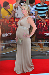 Red 2 UK film premiere.<br /> Millie Clode during the premiere of the sequel to 2010's graphic novel adaption, about a group of retired assassins. <br /> Empire Leicester Square<br /> London, United Kingdom<br /> Monday, 22nd July 2013<br /> Picture by Nils Jorgensen / i-Images