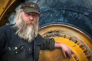 Dawson City, Yukon Territory, Canada, September 2014. Dutchman Tony Beets is as legendary in the Klondike for his gold finding skills as he is for his colorful language. Before Tony came to Dawson City in 1984, he made ends meet by milking cows, before working in pipeline construction. Tony is a hard-nosed businessman who now runs an enormous gold mine near Dawson City called Paradise Hill. In the off-season Tony and his family live in Arizona. With scenic drives in abundance, the Yukon Territory is a driver's dream. The territory boasts a network of well-maintained highways leading through an exhilarating combination of postcard scenery, historic communities, cultural attractions and adventure outings.The Yukon Territory received world fame during the Klondike Gold Rush in 1898.  Photo by Frits Meyst / MeystPhoto.com