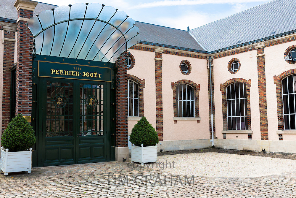 Champagne house of Perrier-Jouet in Avenue de Champagne, Epernay, Champagne-Ardenne, France