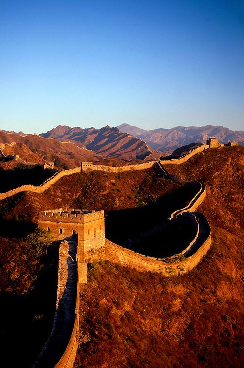The Great Wall of China at Jinshanling, China