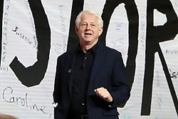 Richard Curtis speaks at the Bill and Melinda Gates foundation's Goalkeepers event at Jazz at Lincoln Center in New York.