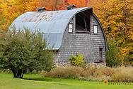 Weathered barn near Chassell in the Upper Peninsula of Michigan, USA