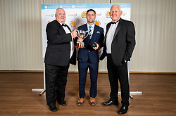 Centrax Players Player Of The Season winner Santiago Cordero with Chris Dumont - Ryan Hiscott/JMP - 16/05/2019 - SPORT - Sandy Park - Exeter, England - Exeter Chiefs End of Season Awards